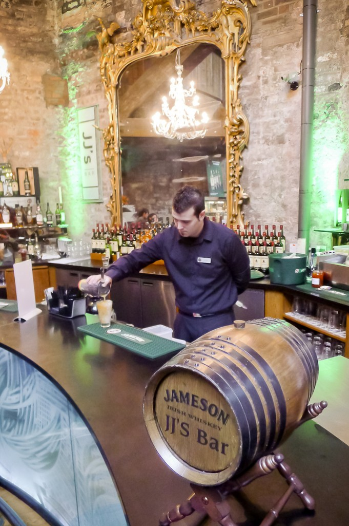 Jameson bar at the distillery
