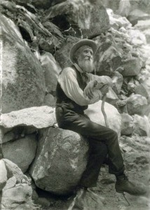 John_Muir with Cane