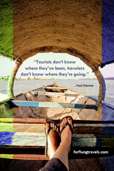 Paul Theroux quote