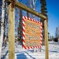 Welcome to North Pole, Alaska