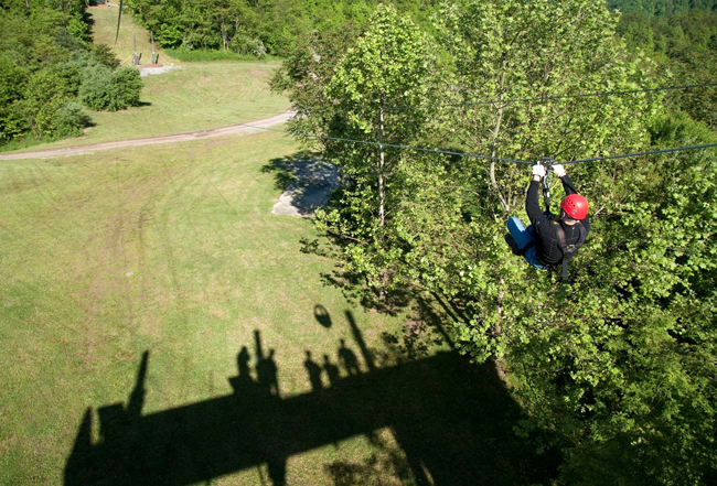 ziplining in west virginia