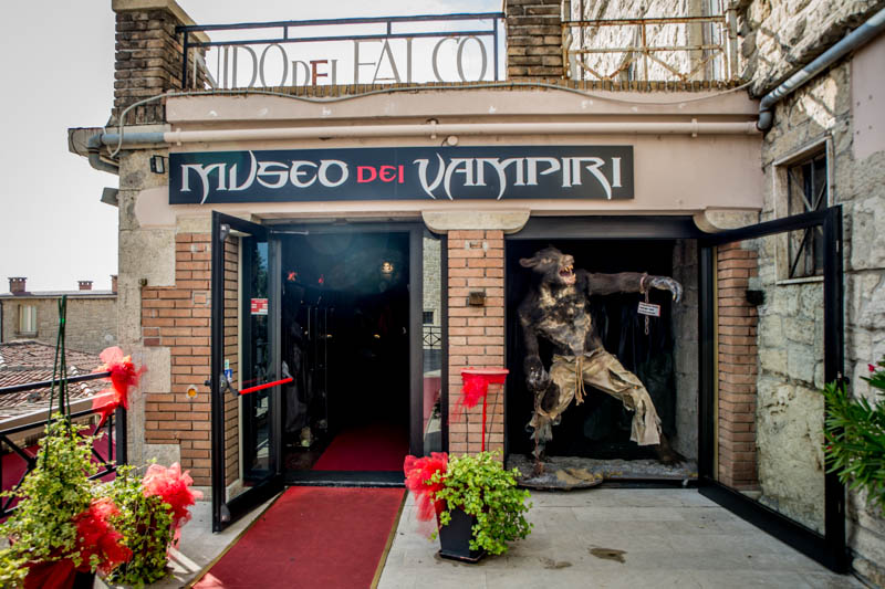The Vampire Museum in San Marino
