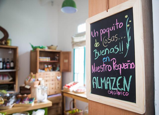 AlmaZen is part café and part organic food market