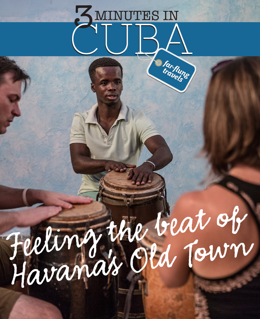 A percussion class at La Casa del Son teaches students about the different rhythms of Cuba — son, rumba and more.
