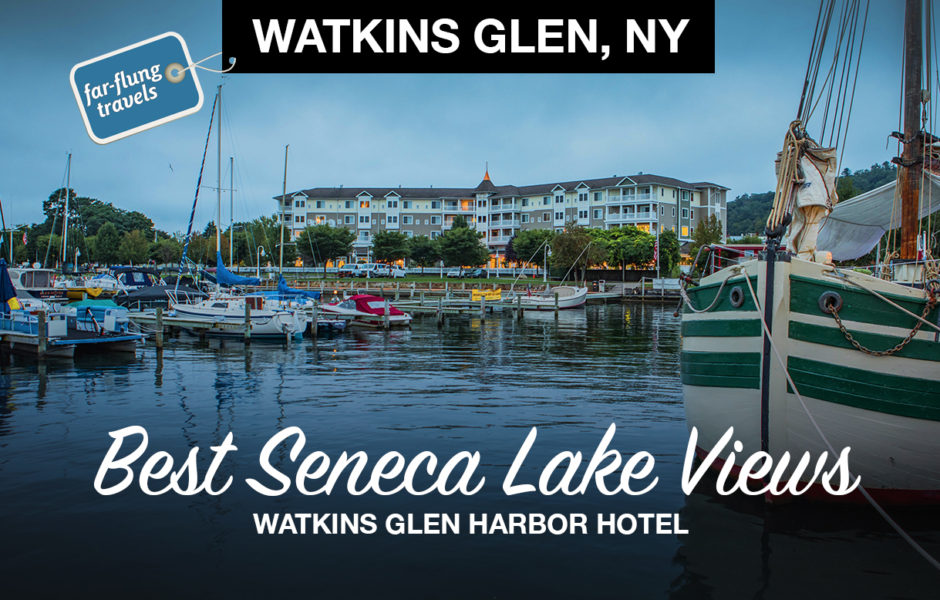 Watkins Glen Harbor Hotel On Seneca Lake In New York